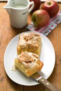 Apfel Baiser Kuchen Hof Familie