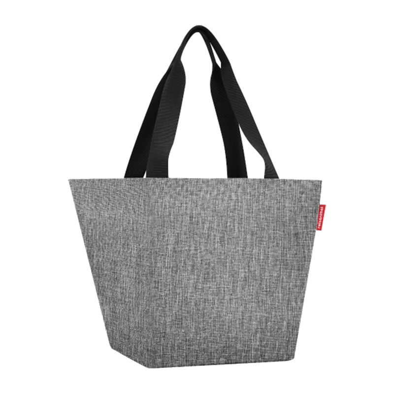 Reisenthel Shopper M, twist silver
